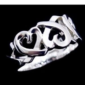 Tiffany & co Loving Heart 925 Silver ring 7